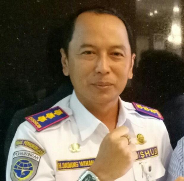 Kepala Dinas Perhubungan Kota Depok,  Dadang Wihana.