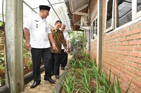 Wakil Walikota Depok Pradi Supriatna meninjau kesiapan SDIT Rahmaniyah untuk ikut LSSN Provinsi Jawa Barat dan tingkat nasional.