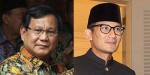 Pasangan Capres-Cawapres Prabowo Subiano dan Sandiaga Uno akan mendaftar ke KPU selepas salat Jumat.