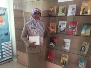 Kabid Perpustakaan, Catur Sri Astuti.