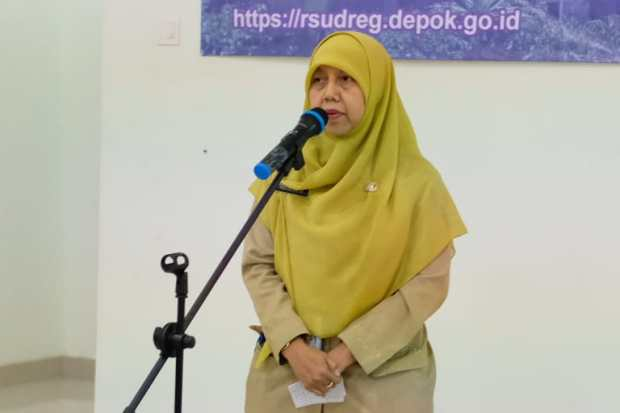 Direktur RSUD Kota Depok, Asloe'ah Madjri.