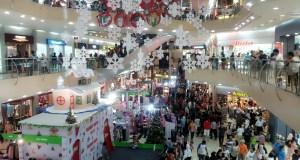 Sejumlah pusat perbelanjaan atau mal di Jakarta memberikan diskon besar-besaran