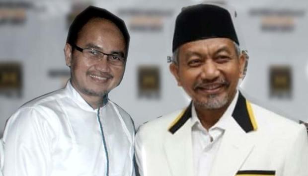Dua dari 3 kandidat Cawagub DKI dari PKS, Ahmad Syaikhu dan Agung Yulianto.