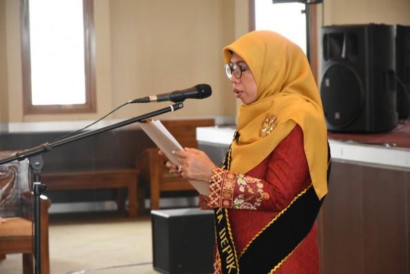 Elly Farida, Bunda PAUD Kota Depok.