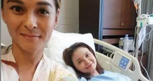 Rossa tengah dirawat di Singapura, tapi belum tahu apa penyakitnya.