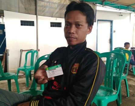 Agus Ramdani salah satu peserta JKN-KIS