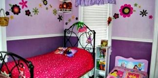 Dekorasi Kamar Tidur Anak Perempuan
