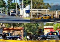 En Tecomán, mal entendido entre taxista y pasaje provoca psicosis, forcejeo e intervención policíaca