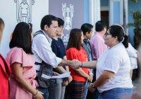 """La mayoría de los puestos de toma de decisiones en el Ayuntamiento de Colima, son ocupados por mujeres"""": Locho Morán."""