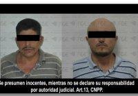 En Ixtlahuacán, asegura Fiscalía droga y detienen a 2 en un cateo