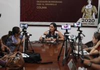 Indira Vizcaino: Para Colima, más de 34 millones en el programa la escuela es nuestra
