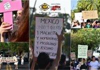 ¡Sin precedente! Más de 6 mil mujeres exigen ponerle fin a la violencia de género en Colima