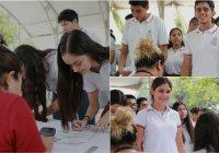 """Indira Vizcaíno: Avanza entrega de Becas """"Benito Juárez"""" para estudiantes de prepa en el estado de Colima"""
