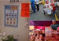 Medidas preventivas en mercados y tianguis del municipio de Colima.