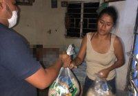 DIF Municipal Colima lleva dotaciones alimentarias a adultos mayores en abandono