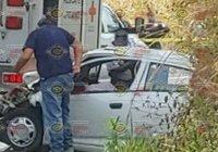 Un muerto y varios lesionados deja terrible percance carretero en Suchitlán
