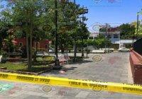 Intentan ejecutar a un hombre en pleno jardín de San José, en la ciudad de Colima
