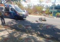 Muere motociclista en accidente registrado en El Trapiche