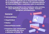 Convoca Indira Vizcaíno a hacer frente común contra la infodemia