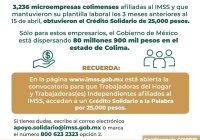 Indira Vizcaíno: Se autorizaron 3,236 creditos para empresarios solidarios de Colima