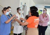 Azucena López Legorreta entregará 500 protectores faciales al Instituto de Cancerología