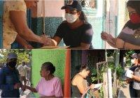 En Ixtlahuacán el presidente Carlo Carrasco continúa con la entrega de apoyos del programa gas en tu hogar