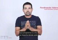Ferninando Valencia actor y donador compulsivo, apoya la campaña Donar Sangre, Salva Vidas