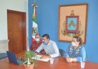 En sesión del consejo estatal de fomentó económico, alcalde Rafael Mendoza destaca las acciones sociales y económicas desplegadas por su gobierno para paliar efectos de la pandemia