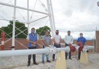 Cumple alcalde Rafael Mendoza sus compromisos de campaña: próximamente inaugurará el nuevo pozo que mejorará el abasto de agua Quesería