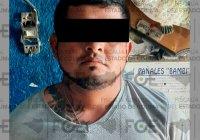 En Tecomán, Fiscalía asegura droga y detienen a un hombre en la colonia Benito Juárez