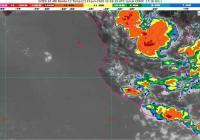 Canal de baja presión podrían provocar lluvias intensas en Michoacán; muy fuertes en Jalisco, Colima y Guanajuato