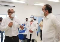 Entrega Gobernador y Peña Colorada Unidad de atención médica