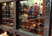 Realizan misa dominical a puerta cerrada en el templo de San Francisco de Almoloyan, en Colima