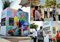 Se entrega Oficina de Policía Municipal de Colima a vecinos de las colonias de la zona sur de la ciudad.