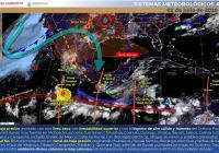 Se pronostica un día nublado y con probabilidad de lluvia para el estado de Colima