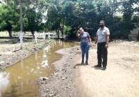 Se avanza en la mitigación de riesgos de inundaciones de viviendas y desbordamiento de drenes en Tecomán