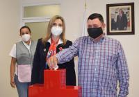 Participa el presidente Carlos Carrasco en el inicio de la colecta anual de la Cruz Roja Mexicana