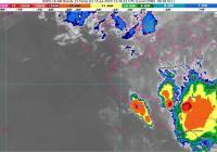 Continuarán las lluvias este miércoles en la zona costera del estado de Colima