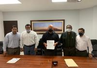 Signan convenio de colaboración Gobierno del Estado  y Asociación de rastreo y protección vehicular