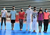 Participan colimenses en Campeonato Nacional de Taekwondo de Selecciones Poomsae