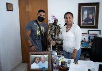 Agradece campeón nacional de fisicoculturismo a la alcaldesa de Manzanillo por su impulso al deporte