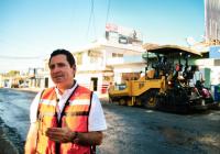 Invertimos cerca de 60 millones de pesos en mejorar las vialidades de la ciudad de Colima: Locho Morán.