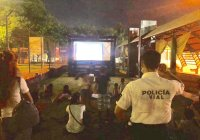 Buena participación a la convocatoria de prevención del delito, para programa de cine comunitario