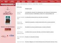 Promueven lectura de revista  De JURE, sobre Derecho