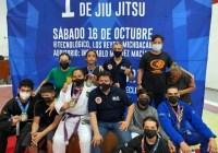Colimense obtiene cuatro medallas en la Primera Copa Tec de Jiu Jitsu