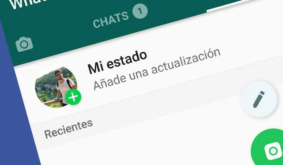 Los estados de WhatsApp tienen vigencia 24 horas y solo tus contactos pueden verlos. (Foto: WhatsApp)