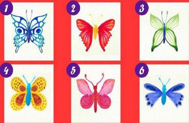 Prueba que te pide escoger una mariposa para saber tus virtudes y defectos. (Foto: Facebook)