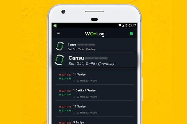 This is how WhatzSeen works on your Android device, the app that will tell you who connects to WhatsApp.  (Photo: WhatzSeen)