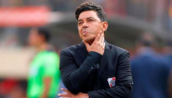 Marcelo Gallardo podría ser el sustituto de Valverde en el FC Barcelona.  (Foto: AFP)
