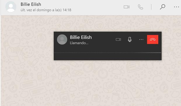De esta forma podrás activar las llamadas y videollamadas en WhatsApp Web. (Foto: MAG)